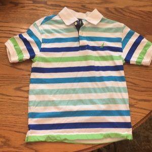 Nautica collard boys shirt size small (8)